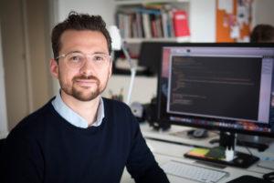 Martin Pedersen er digital designer ved Design Concern i Aarhus